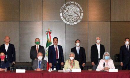 El semáforo epidemiológico será un trabajo conjunto, acuerdan gobernadores y Segob