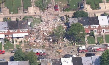 Una enorme explosión destruyó varias casas en Baltimore