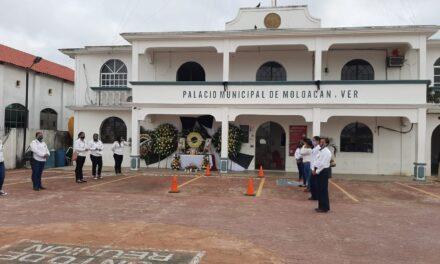 Tras deceso de alcaldesa de Moloacán, síndico asumirá titularidad