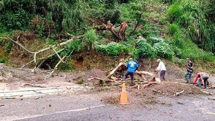 Lluvias dejan afectaciones en 24 municipios de Veracruz