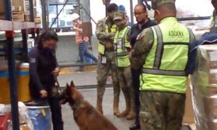 Decomisan 220 kilos de fentanilo en el Aeropuerto de la Ciudad de México