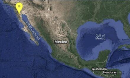 Se registran con 21 minutos de diferencia dos sismos a Baja California; uno fue de magnitud 5.2