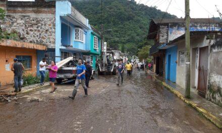 Informa Protección Civil de Veracruz afectaciones por lluvias en los distintos municipios