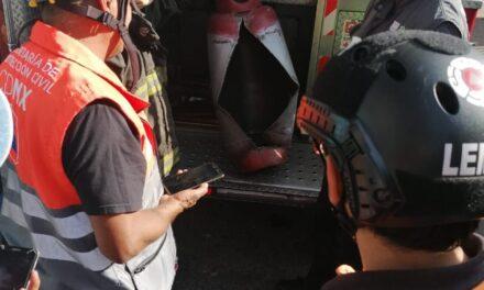 12 lesionados de gravedad tras explosión por acumulación de gas en Iztapalapa