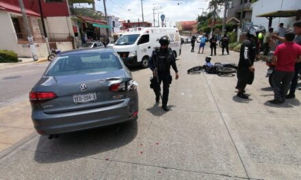 Motociclista lesionado en accidente sobre el bulevar San Francisco de San Román en Córdoba