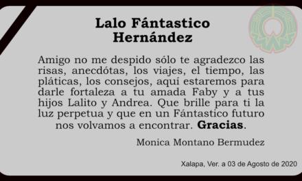 Obituario Lalo Fantástico Hernandez E.P.D.