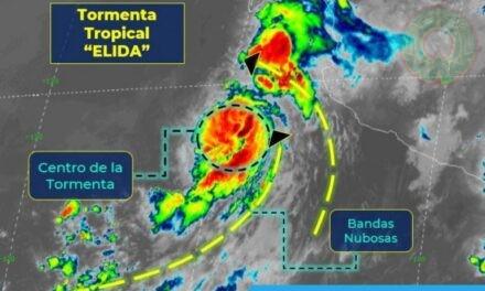 """Elida"""" se convertirá en huracán en el transcurso del día"""