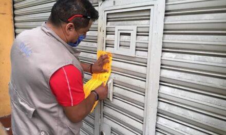 CLAUSURAN CINCO NEGOCIOS EN XALAPA POR INFRINGIR MEDIDAS SANITARIAS