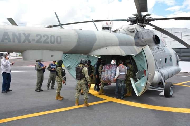 Entrega Gobierno del Estado de Veracruz 3 toneladas de apoyo humanitario al Totonacapan