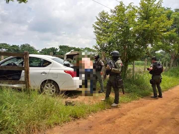 Tras intenso operativo rescata Fuerza Civil a persona privada de su libertad, en Hueyapan de Ocampo
