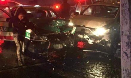 Durante la madrugada, se registró fuerte accidente en la avenida 20 de Noviembre