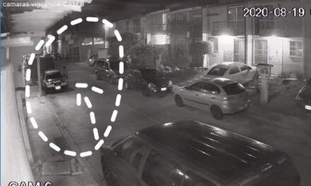 Roban taxi en Xalapa, durante la madrugada de este miércoles