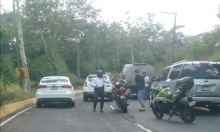 Accidente de tránsito en la avenida Murillo Vidal
