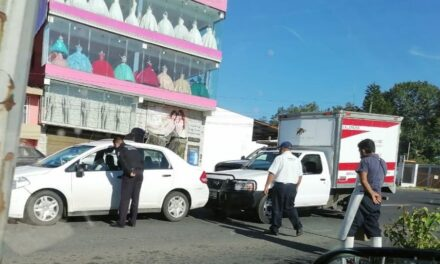 Accidente de tránsito sobre el bulevar Xalapa – Banderilla