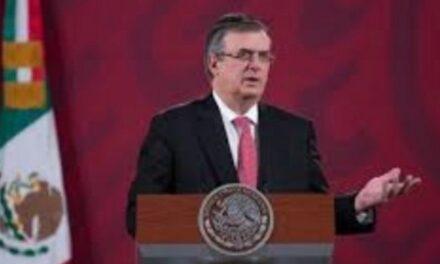 Una vez que la Cofepris autorice la vacuna, México estaría «en condiciones de iniciar la producción: Marcelo Ebrard