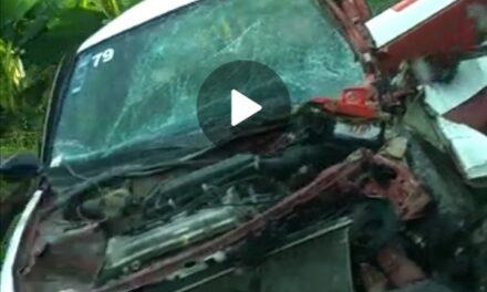 Accidente en la carretera Tlapacoyan- Atzalan,
