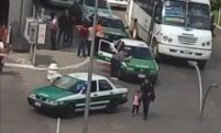 Choque sobre la Avenida Chedraui Caram, a la altura de Plaza Cristal