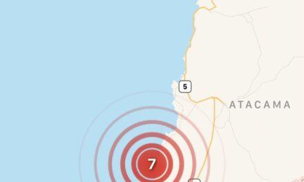 Dos sismo sacudieron a Chile