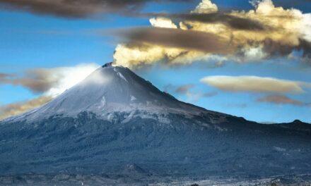 Popocatépetl rompe récord! Registró 223 exhalaciones y un sismo
