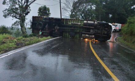 Accidente en la carretera Fortín-Conejos