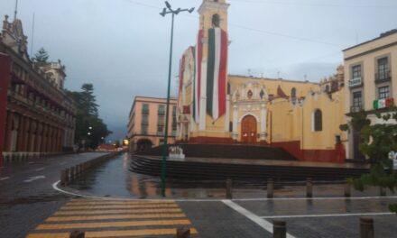 Población del estado de Veracruz  Próximas 24 horas se prevé poco cambio de temperatura, probabilidad altas de lluvias/tormentas y viento del Norte y Noreste con rachas.