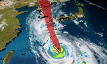 Japón se prepara para poderoso tifón Haishen