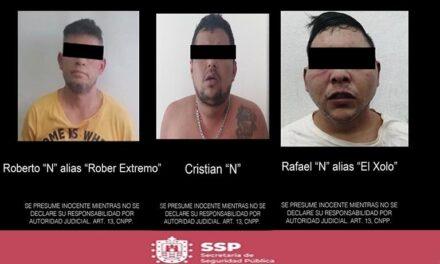 Rescata SSP a dos personas privadas de su libertad; detienen a 3 en Córdoba.