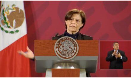 """""""No se van a quedar las presas vacías"""", asegura Blanca Jiménez de Conagua"""