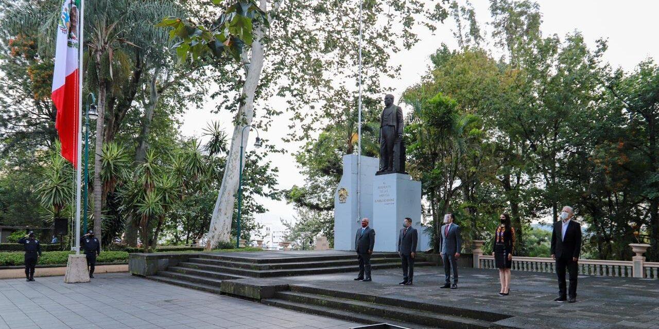 Gobernador de Veracruz encabezó el inicio de los actos conmemorativos por el 210 Aniversario del Inicio de la Independencia.