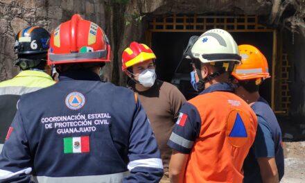 Rescatan cuatro cuerpos de la Mina del Cubo en Guanajua