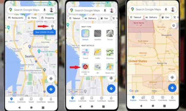 Google Maps informará sobre casos promedio de coronavirus en cada país Estará disponible en una semana tanto para los sistemas operativos Android como iOS.
