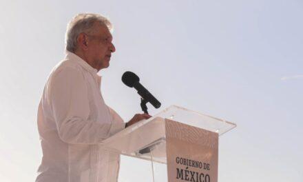 El Presidente de la República Andrés Manuel López Obrador visita Veracruz este fin de semana