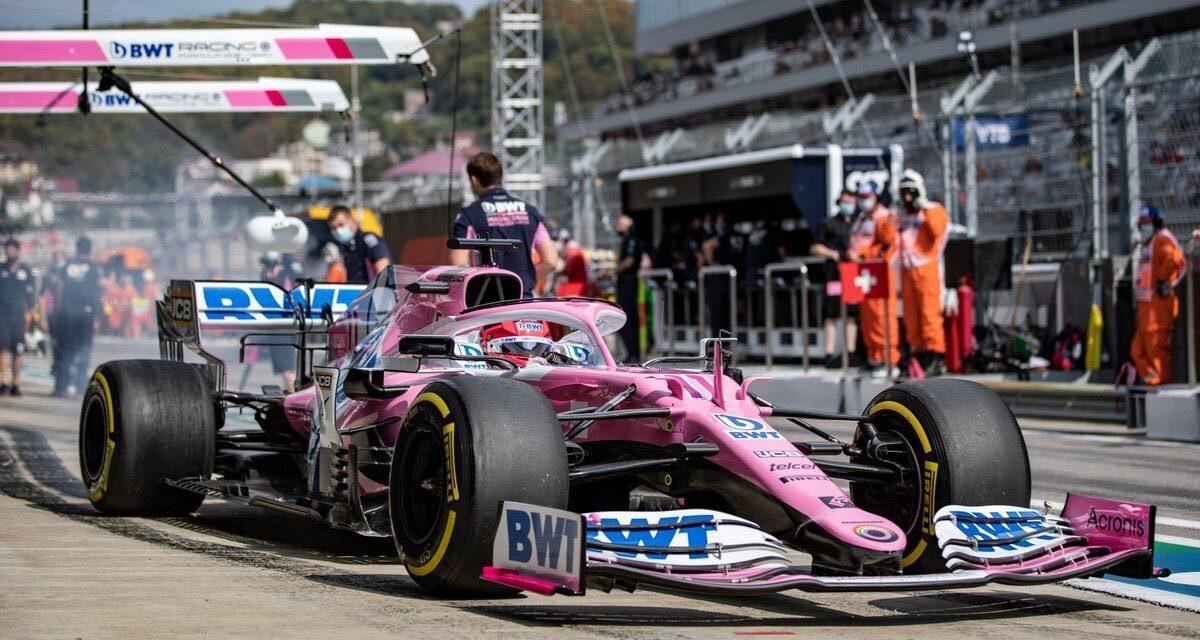 Checo Pérez se queda cerca del podio; termina en cuarto lugar