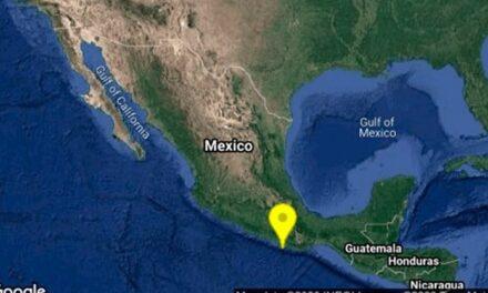 Se registra sismo de 4.9 en Pinotepa Nacional, Oaxaca