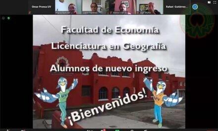 Geografía UV recibió a estudiantes de nuevo ingreso
