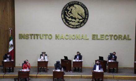 Redistribuye INE financiamiento público a los ocho partidos políticos nacionales