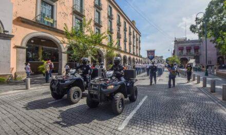 PRESENTAN A NUEVA GENERACIÓN DE POLICÍAS MUNICIPALES DE XALAPA
