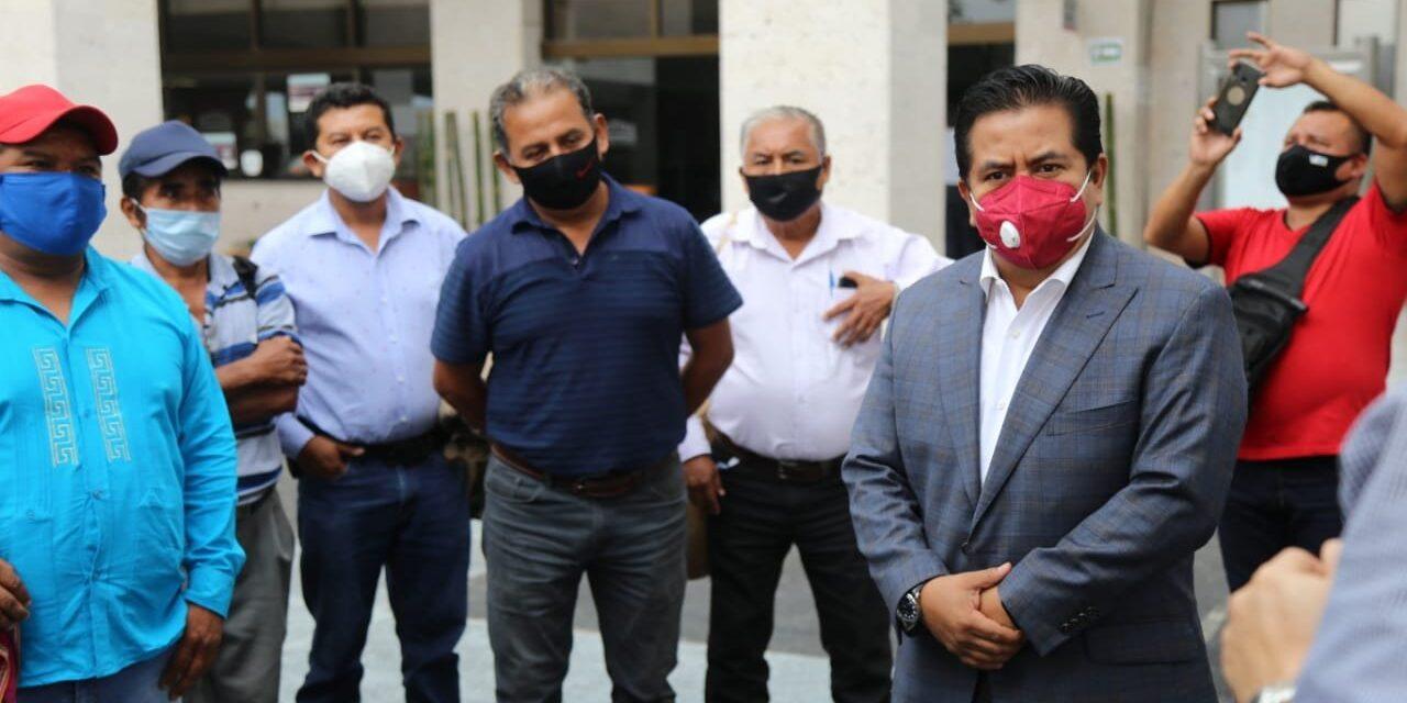Defenderé el derecho de agentes municipales de Papantla a ser remunerados: Eric Domínguez