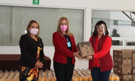Respaldó Rosalinda Galindo a la niñez de la Ciudad Asistencial Conecalli del DIF Estatal