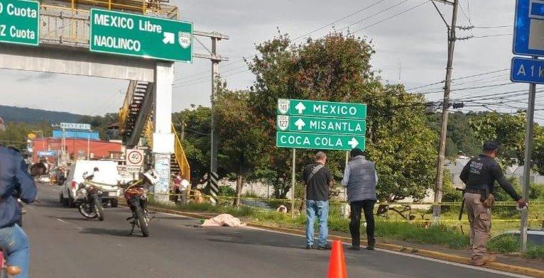 Persona atropellada en el bulevar Xalapa – Banderilla