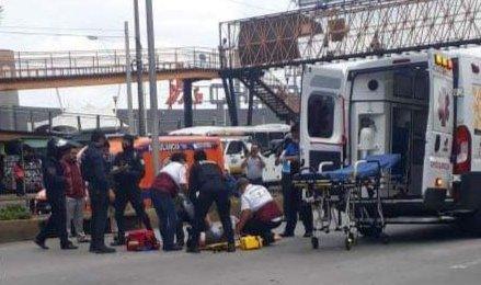 Y el puente bien gracias! Persona atropellada en Lázaro Cárdenas, a la altura de Plaza Cristal