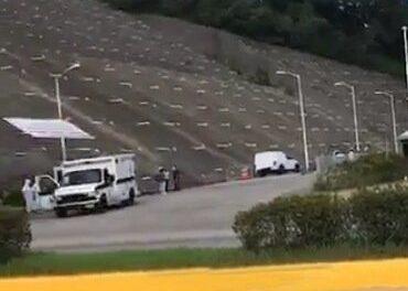 Fallece una persona en ambulancia afuera del Velodromo de Xalapa