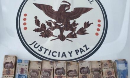 Detienen a dos personas con medio millón de pesos en el tramo México-Puebla