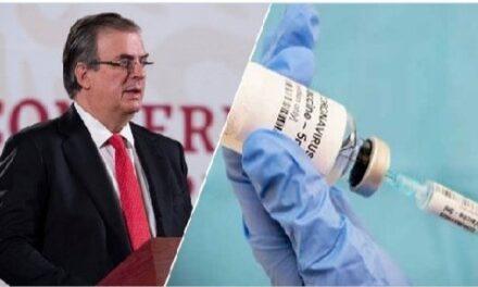 México accederá a 51.6 millones de vacunas a través de Covax: SRE