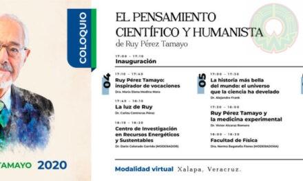 "Cátedra ""Ruy Pérez Tamayo"" 2020 abordará vínculo ciencias-humanidades"