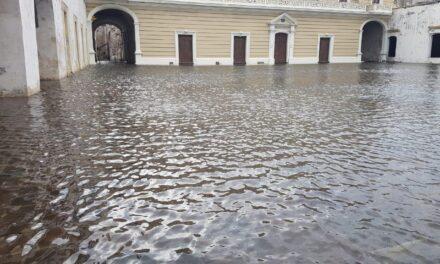 Aclaran inundación de fortaleza de San Juan de Ulúa