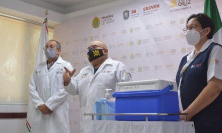 Inició la campaña estatal de vacunación contra la Influenza en Veracruz
