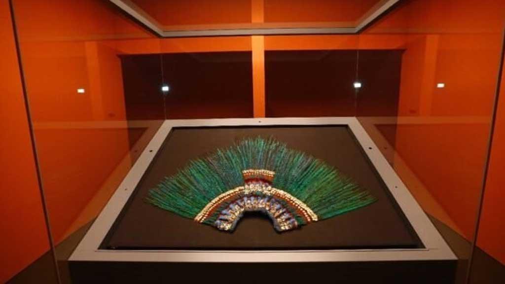Más de 200 piezas de la cultura Azteca se exhiben en museo de Austria