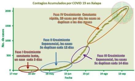 COVID 19 EN XALAPA: ¿QUÉ NOS DICEN LOS DATOS DE CONTAGIOS?