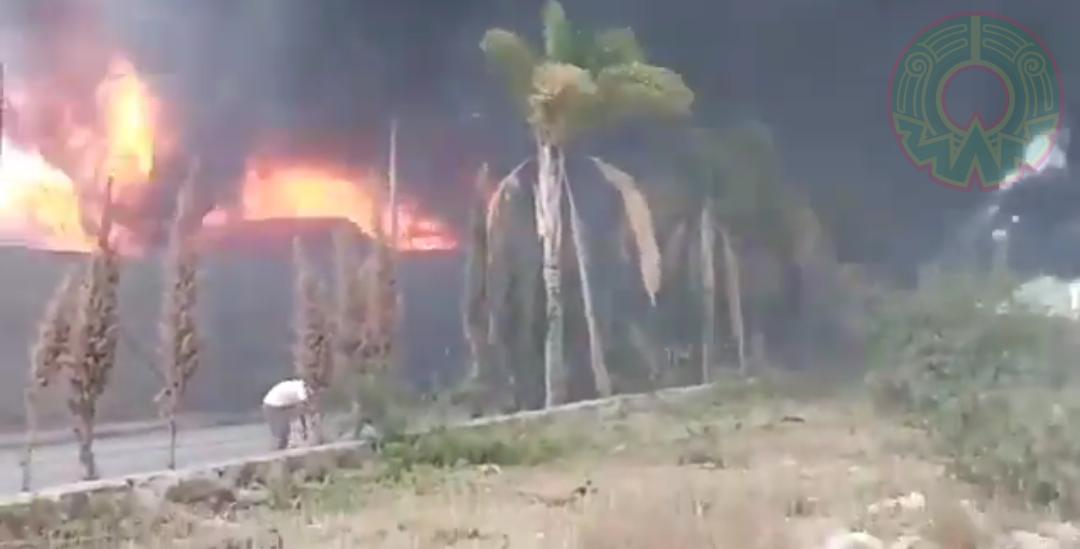 Explosión en zona industrial sacude San Luis Potosí